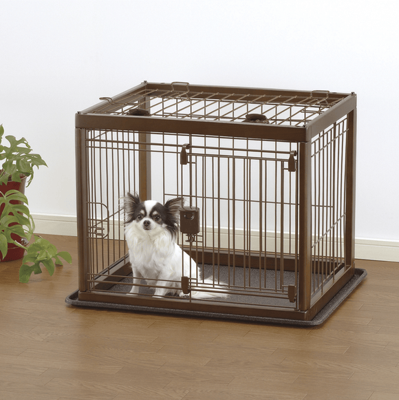 Wooden Pet Crate - Le Pet Luxe