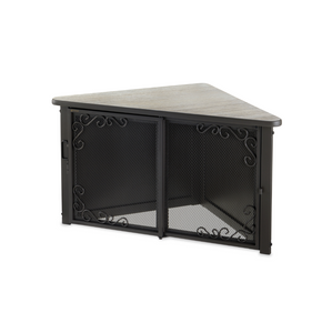 Accent Corner Table Pet Crate - Le Pet Luxe