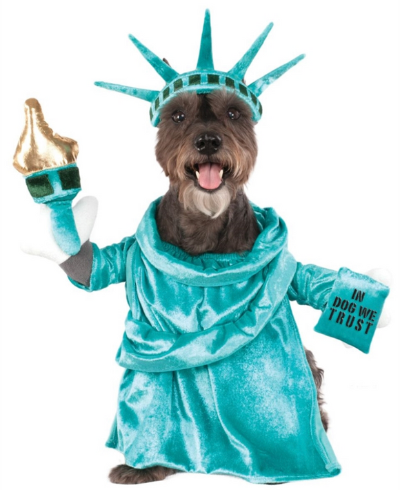Statue of Liberty Dog Costume - Le Pet Luxe