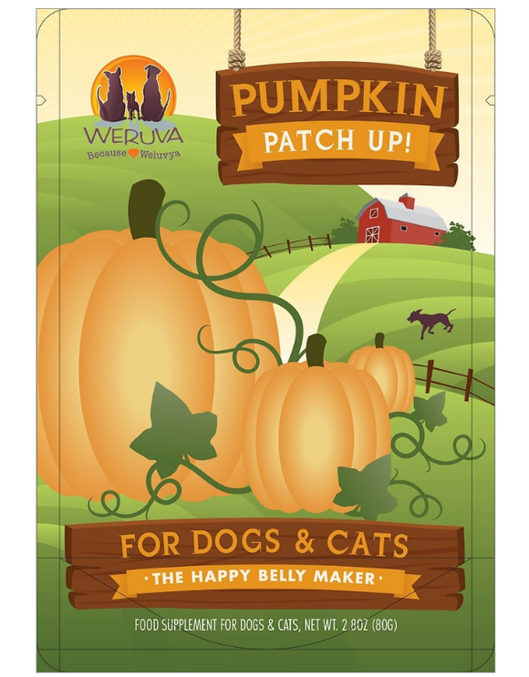 Weruva Dog Pumpkin Patch 2.8oz. 12 pack case of 12 - le-pet-luxe