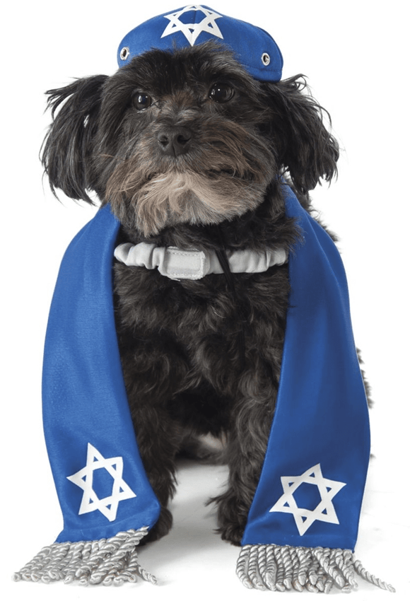 Yarmulke & Tallis Dog Costume - Le Pet Luxe