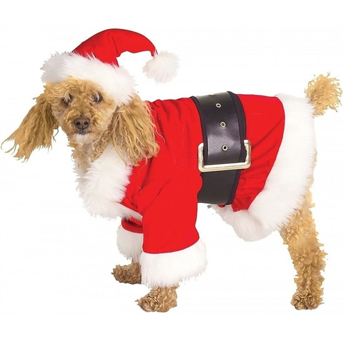 Santa Claus Dog Costume - le-pet-luxe