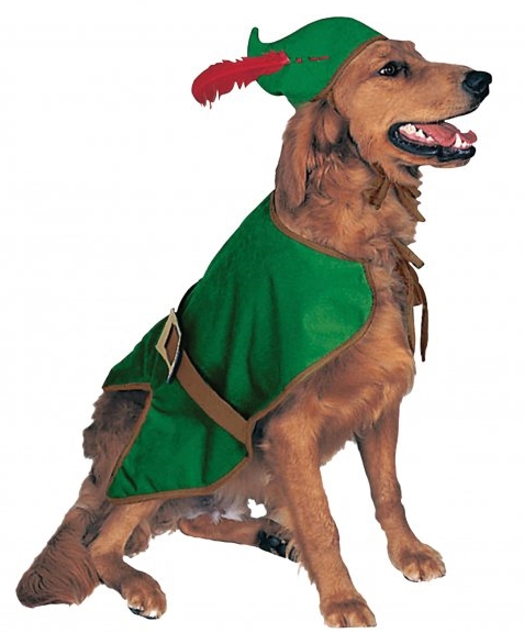 Robin Hood Dog Costume - le-pet-luxe