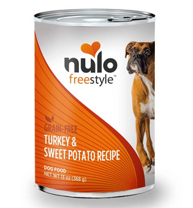 Nulo FreeStyle Adult Dog Grain Free ~ Turkey (case of 12) - Le Pet Luxe