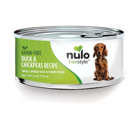 Nulo FreeStyle Small Breed Grain Free ~ Duck Chickpeas (Case of 24) - Le Pet Luxe