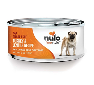 Nulo FreeStyle Small Breed Grain Free ~ Turkey Lentils (Case of 24) - Le Pet Luxe