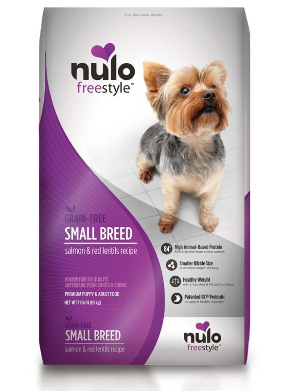 Nulo FreeStyle Small Breed Grain Free ~ Salmon & Red Lentils - Le Pet Luxe