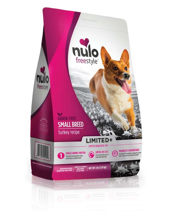 Nulo FreeStyle Small Breed Grain Free ~ Turkey - Le Pet Luxe