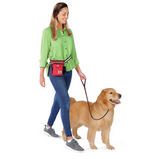 Day/Night Walking Bag ~ Red - Le Pet Luxe
