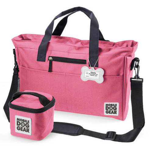 Day Away Tote Bags ~ Pink - le-pet-luxe
