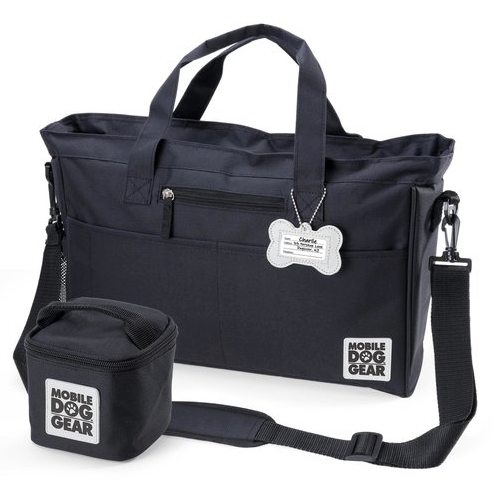 Day Away Tote Bags ~ Black - le-pet-luxe