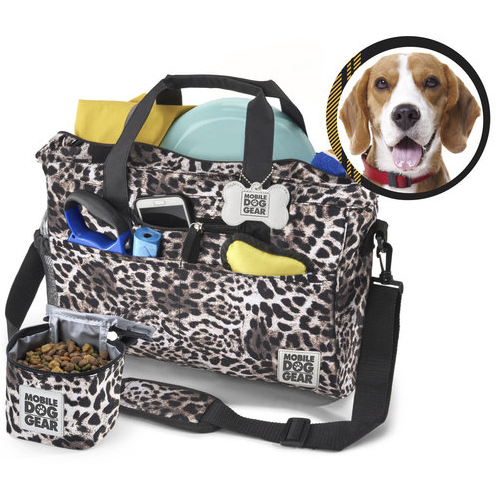 Day Away Tote Bags ~ Animal PrInt - le-pet-luxe