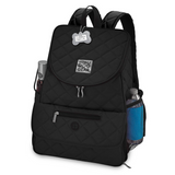Weekender Backpack ~ Black (All Size Dogs) - Le Pet Luxe