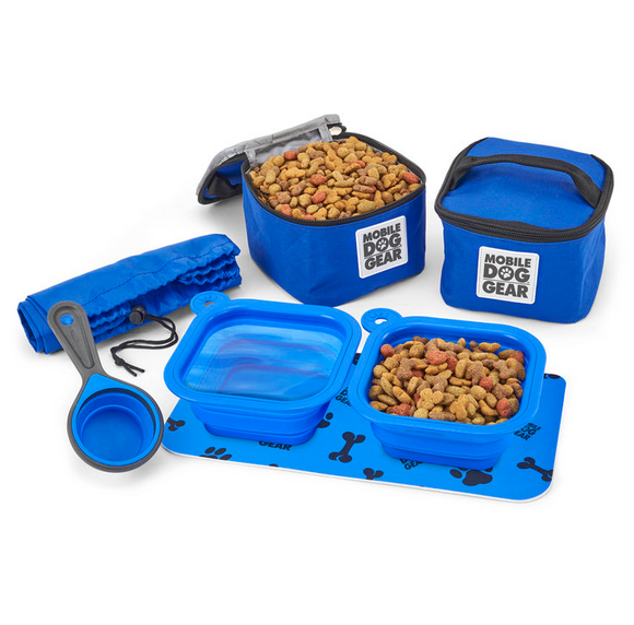 Dine Away Food Set (Small Dogs) - le-pet-luxe