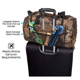 Ultimate Week Away Duffle Bag ~ Camo - Le Pet Luxe