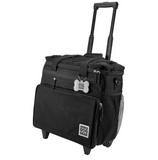 Rolling Week Away with Telescopic Handle ~ Black - Le Pet Luxe