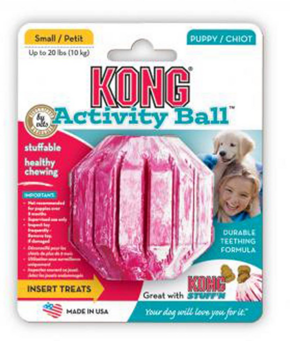 KONG Activity Ball Puppy Toy ~ Small - Le Pet Luxe