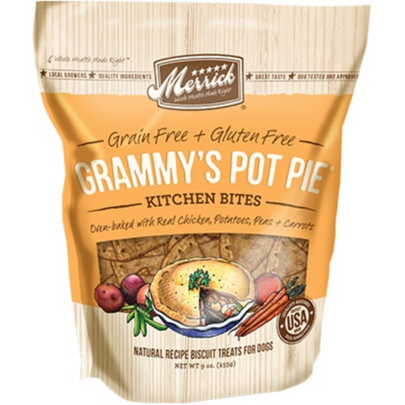 Merrick Kitchen Bites Grammy's Pot Pie - Le Pet Luxe
