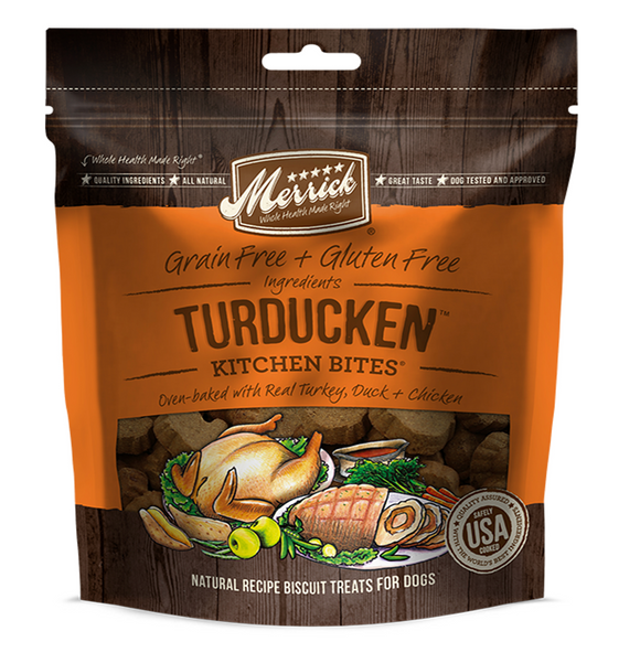 Merrick Kitchen Bites Turducken - Le Pet Luxe