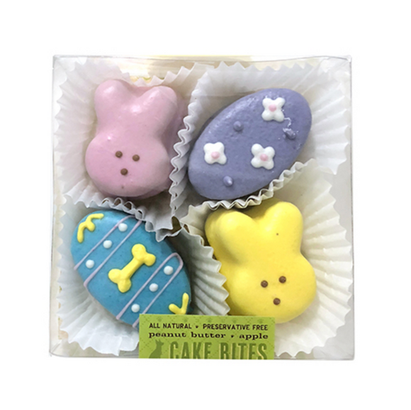 Easter Cake Bites Box - Le Pet Luxe