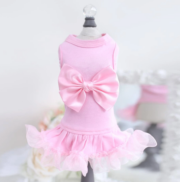 Ballerina Dog Dress ~ Pink - Le Pet Luxe