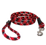 Reflective Rope Leash ~ Red - Le Pet Luxe
