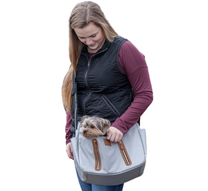R&R Sling ~ Fog - Le Pet Luxe