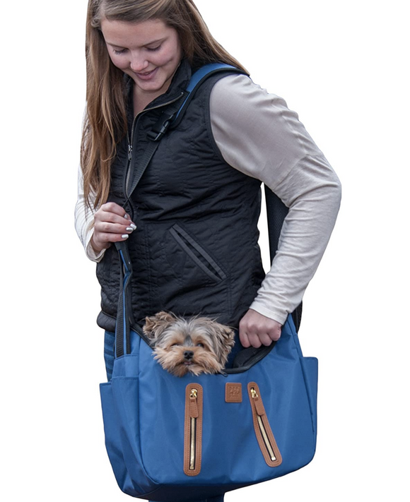 R&R Sling ~ Navy - Le Pet Luxe