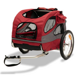HoundAbout Bicycle Trailer For your Pet - Large (steel) 40lbs - Le Pet Luxe