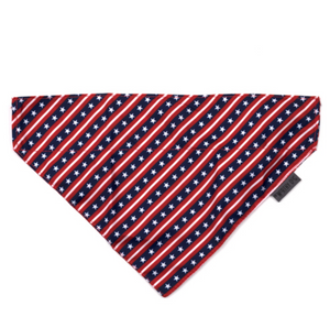 Stars and Stripes Dog Bandana - Le Pet Luxe