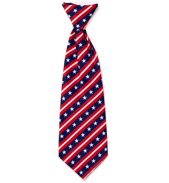 Stars and Stripes Dog Necktie - Le Pet Luxe