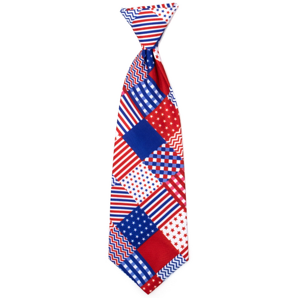 Americana Dog Necktie - Le Pet Luxe