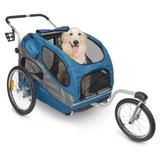 Strolling Kit for HoundAbout Bicycle Trailer - Le Pet Luxe