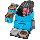 Weekender Backpack ~ Blue (All Size Dogs) - Le Pet Luxe