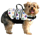 Dog Life Jacket ~ Nautical - Le Pet Luxe