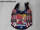 Dog Life Jacket ~ Flag - Le Pet Luxe
