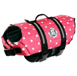 Dog Life Jacket ~ Pink Polka Dot - Le Pet Luxe