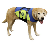 Dog Life Jacket ~ Blue/Yellow - Le Pet Luxe