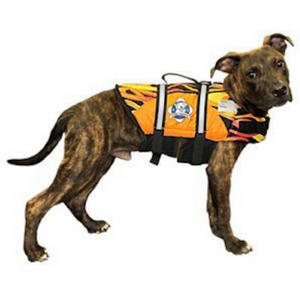 Dog Life Jacket ~ Flames - Le Pet Luxe