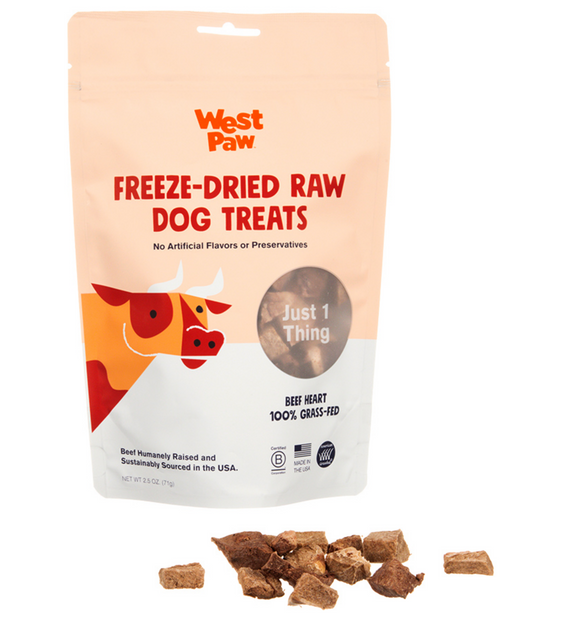 Beef Heart Single Ingredient Dog Treat - Le Pet Luxe