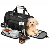 Pet Carrier Plus ~ Black - Le Pet Luxe