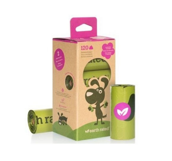Earth Rated BIO 120S (Box of 8) ~ Scented - Le Pet Luxe