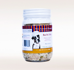 Beef and Tofu Dog Food (Case of 12) - Le Pet Luxe