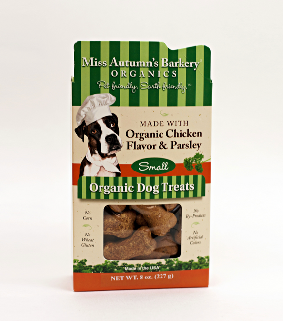 Organic Chicken Flavor & Parsley Treats - Le Pet Luxe