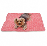 Blush of Love Fleece Blanket - Le Pet Luxe