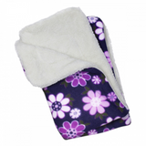 Midnight Garden Fleece Blanket - Le Pet Luxe