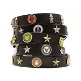 Service Emblem Dog Collar - Le Pet Luxe