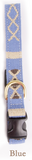 A tail we could wag Side-Release Dog Collar ~ Block Island Blue - Le Pet Luxe
