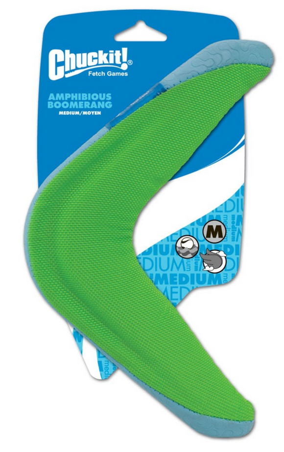 Chuckit! Amphibious Boomerang ~ Medium - Le Pet Luxe