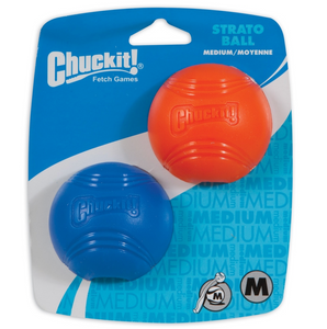 Chuckit! Strato Ball Dog Toy Small 2pk - Le Pet Luxe